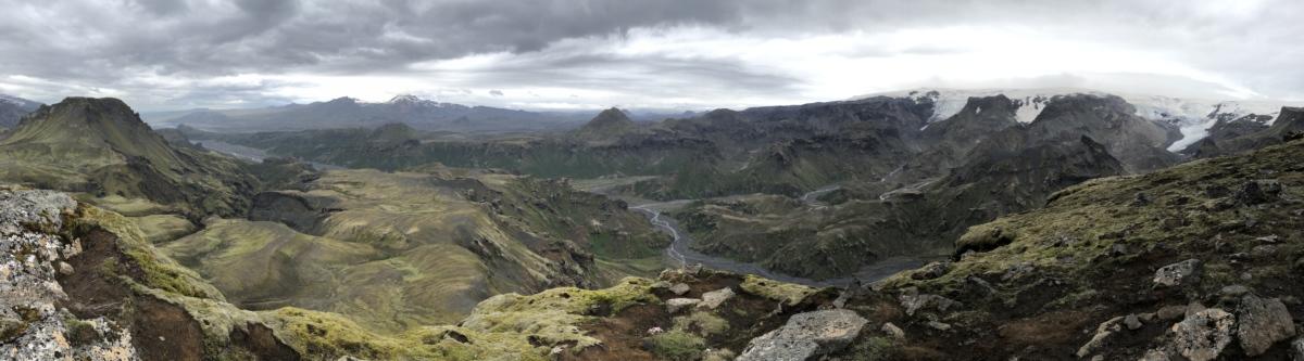 景观, 国家公园, 全景, 谷, 山, 高地, 山, 性质, 户外活动, 爬坡道
