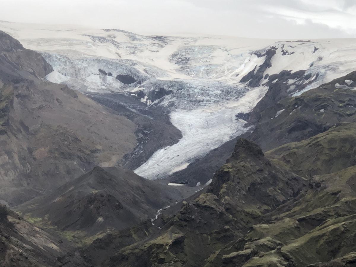 Альпийский, Ледник, нагорье, Горная вершина, горы, Гора, пик, пейзаж, снег, лед