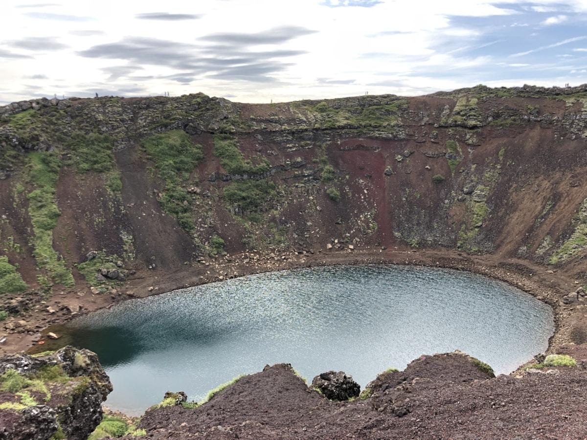 Göl, manzara, su, dağ, krater, Volkan, doğa, Erüpsiyonu, volkanik, Park