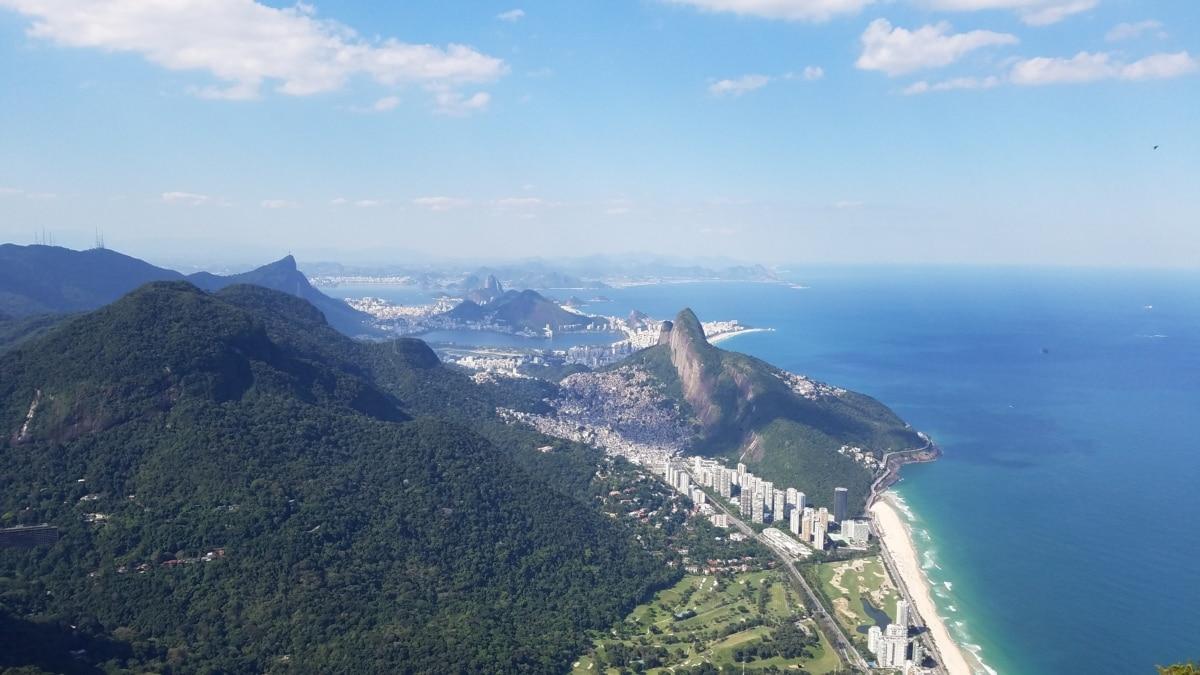 beach, panorama, rio de janeiro, summer season, wilderness, water, mountain, snow, mountains, landscape