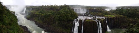 panorama, structure, river, waterfall, water, landscape, nature, outdoors, wood, rock