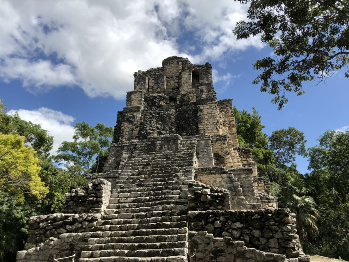 american, pyramid, archaeology, ancient, ruin, architecture, temple, old, stone, religion