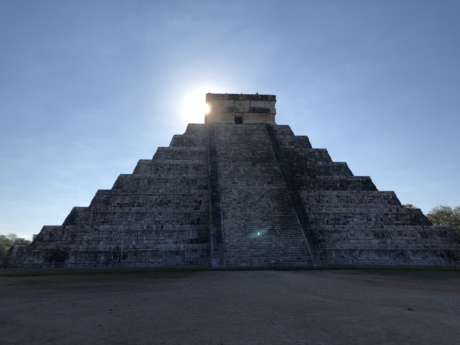 pyramid, ancient, fortress, architecture, stone, history, step, archaeology, monument, outdoors