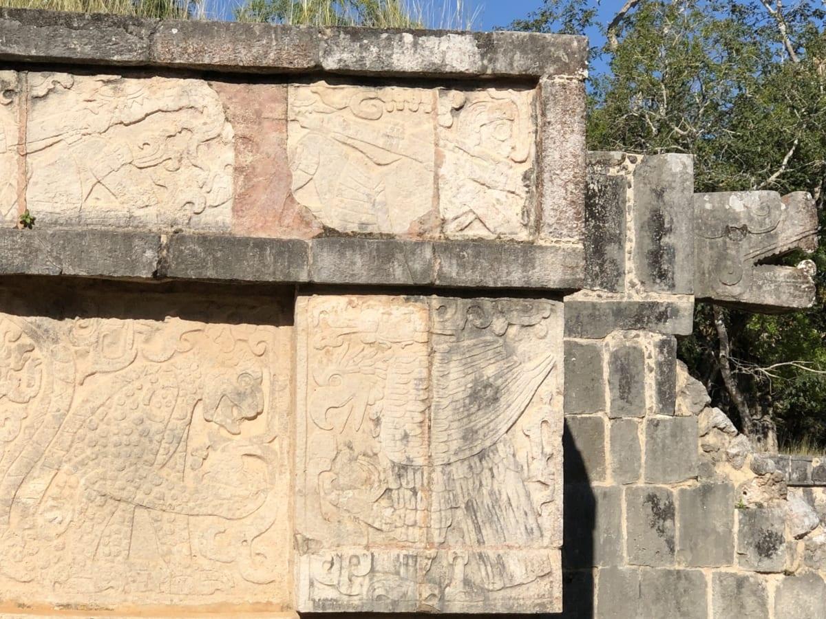 Archeologia, rzeźby, ręcznie robione, średniowieczny, Szaniec, starożytne, kamień, stary, Cegła, tekstury
