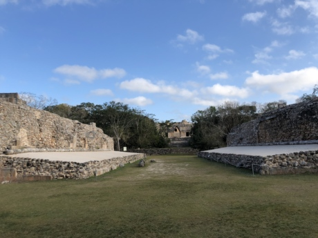fortification, fortress, wall, architecture, landscape, grass, outdoors, ancient, pyramid, sacrifice