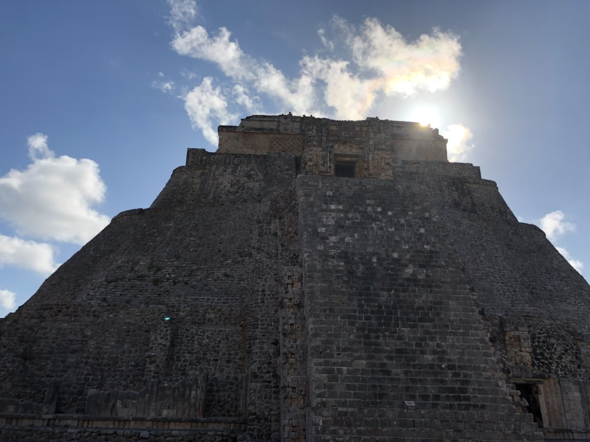 pyramid, sun, grave, fortress, stone, architecture, ancient, archaeology, old, outdoors