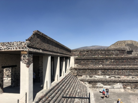 roof, architecture, temple, ancient, archaeology, pyramid, outdoors, old, religion, step