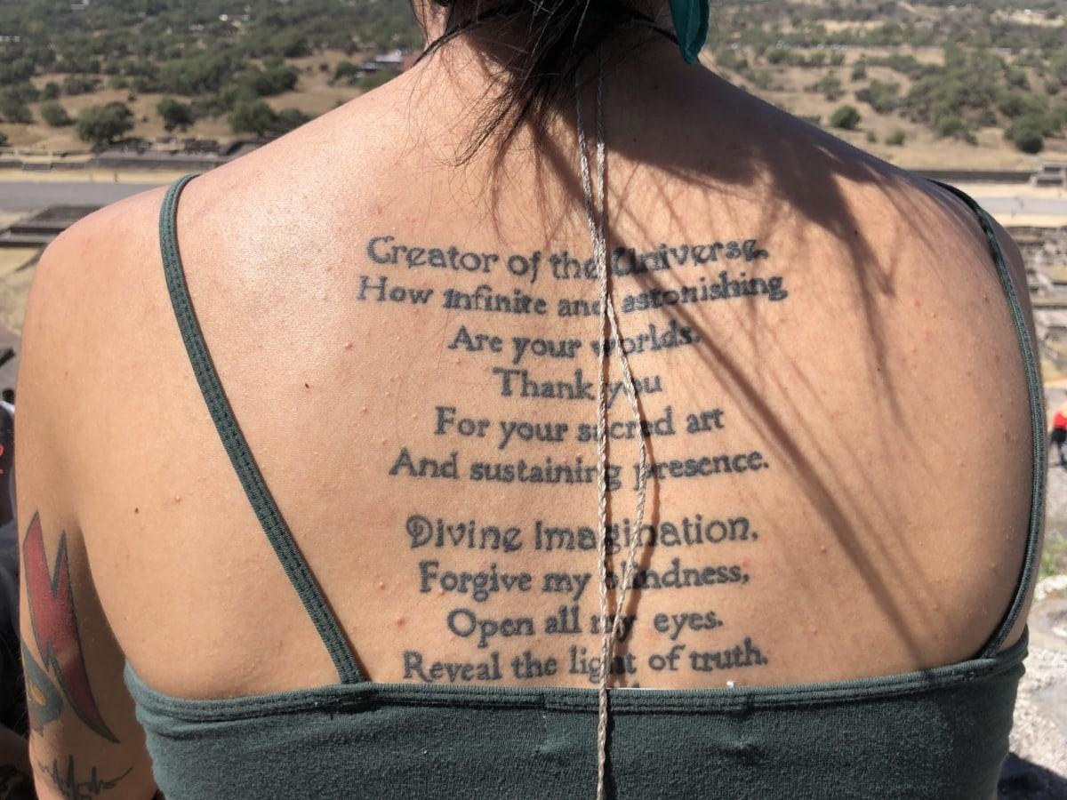 handgjorda, huden, tatuering, design, dekoration, kvinna, mode, porträtt, Flicka, sommar