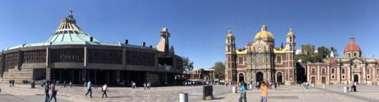 Église, paysage urbain, Centre ville, Panorama, rue, architecture, à l'extérieur, Création de, Ville, lumière du jour