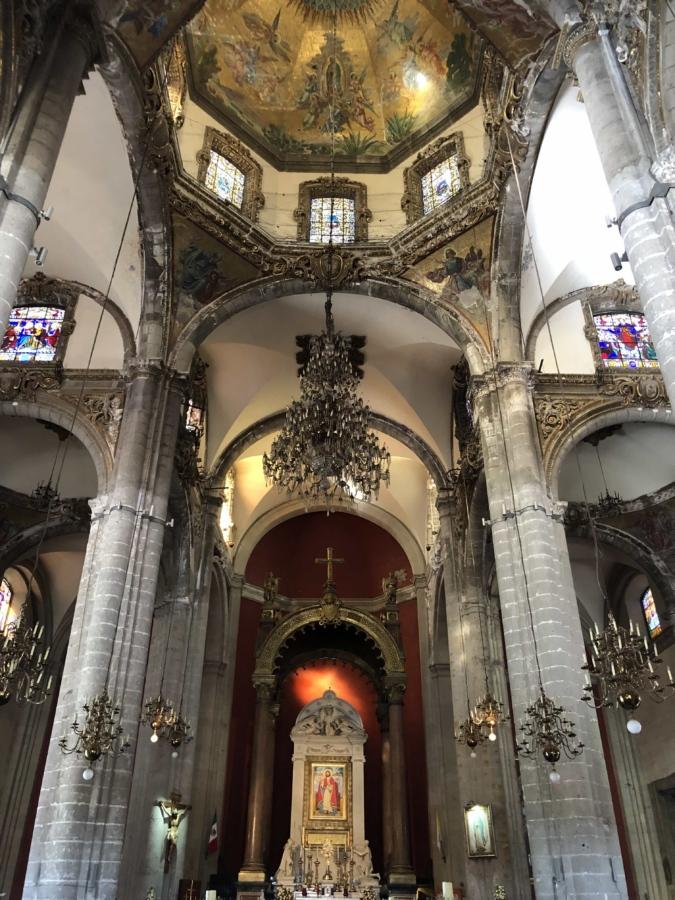 alteret, katedralen, katolske, taket, lysekrone, interiørdesign, religion, bygge, kirke, arkitektur