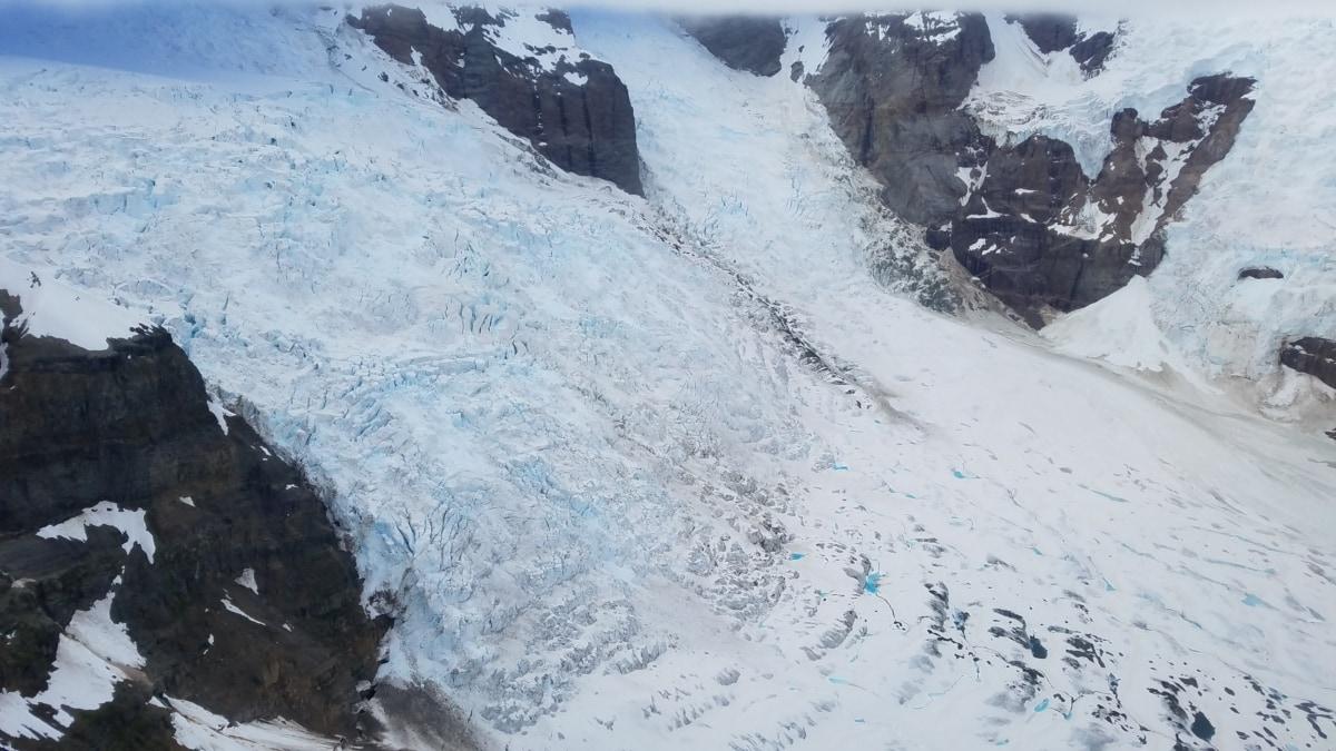 ketinggian, gletser, dataran tinggi, salju, Gunung, es, musim dingin, dingin, pegunungan, pemandangan