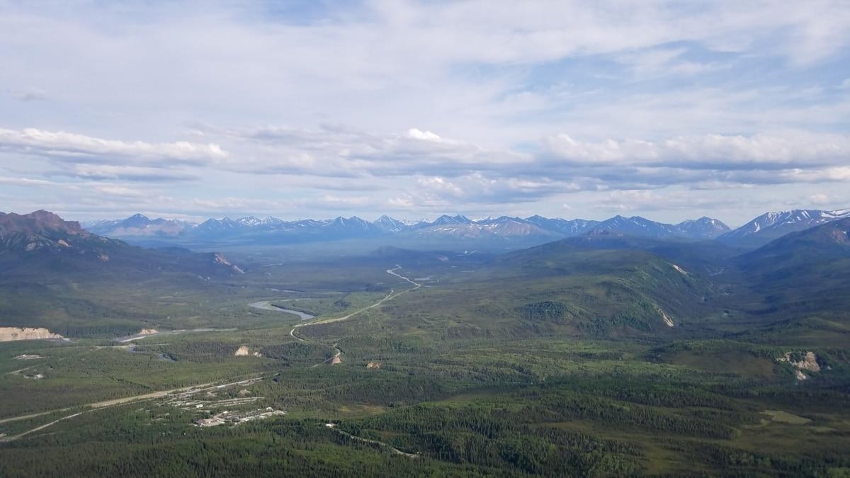 nature, mountains, range, mountain, landscape, high land, valley, wood, summer, hill