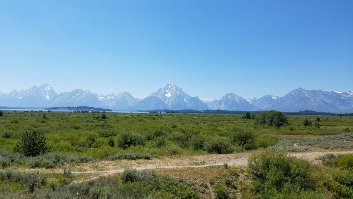 nemzeti park, sztyepp, felvidéki, hó, hegyi, táj, hegyek, tartomány, park, természet