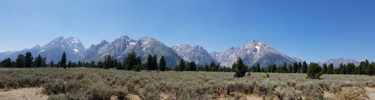 Panorama, montagnes, gamme, neige, montagne, paysage, à l'extérieur, nature, Scenic, lumière du jour