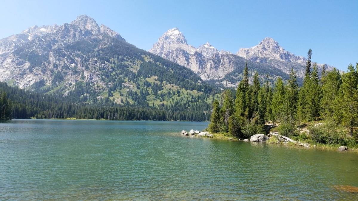 bassenget, vann, utvalg, innsjøen, fjell, fjell, innsjø, landskapet, snø, tre