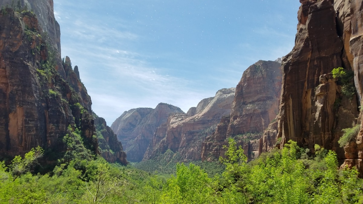 mountain, nature, landscape, valley, range, mountains, canyon, cliff, rock, sandstone