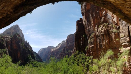 formation, rock, landscape, valley, ravine, cliff, mountain, nature, canyon, park