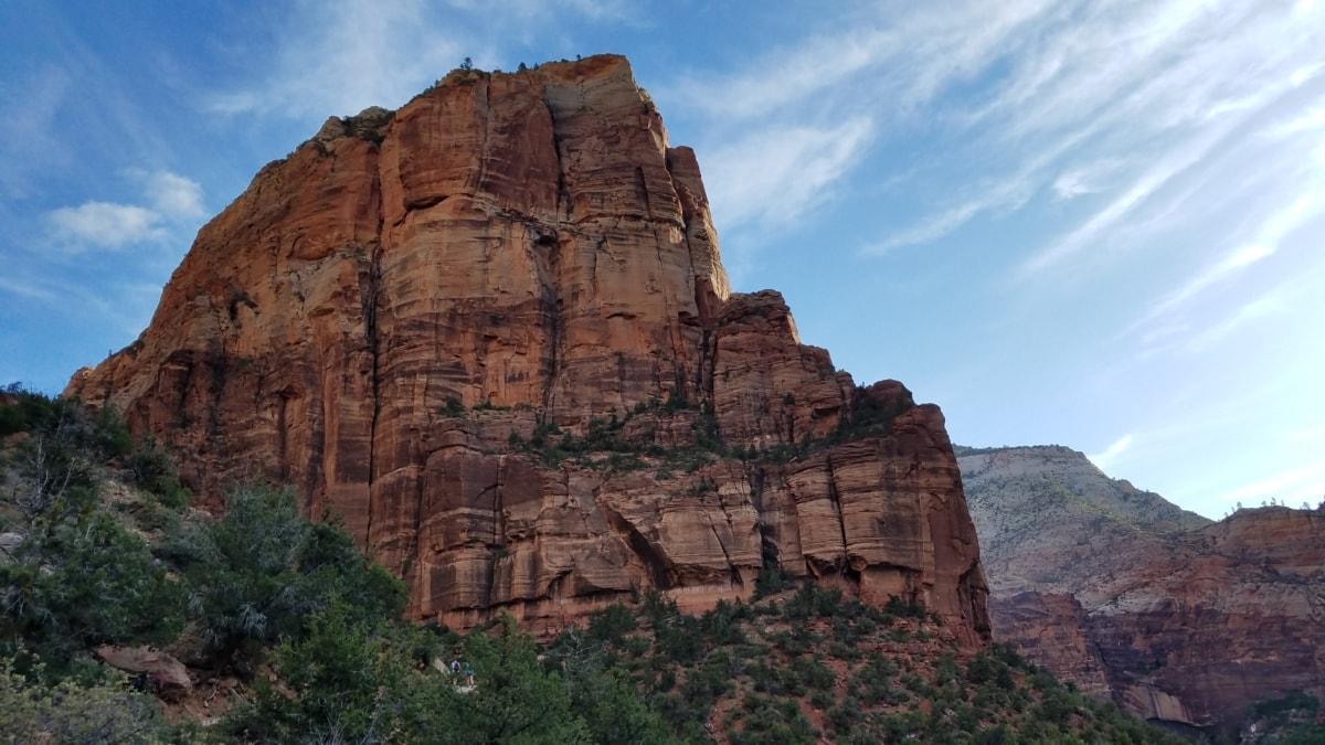 cliff, desert, valley, landscape, park, rock, canyon, sandstone, nature, geology