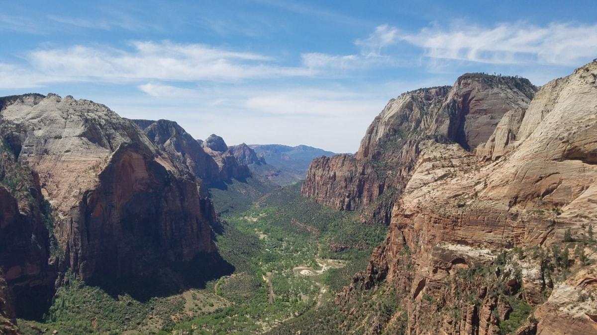 峡谷, 沙漠植物, 地质, 砂岩, 景观, 谷, 山, 山沟, 范围, 山