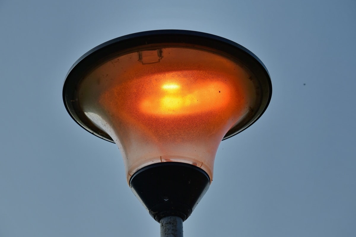 light bulb, lamp, light, outdoors, heat, electricity, daylight, dark, illuminated, blur