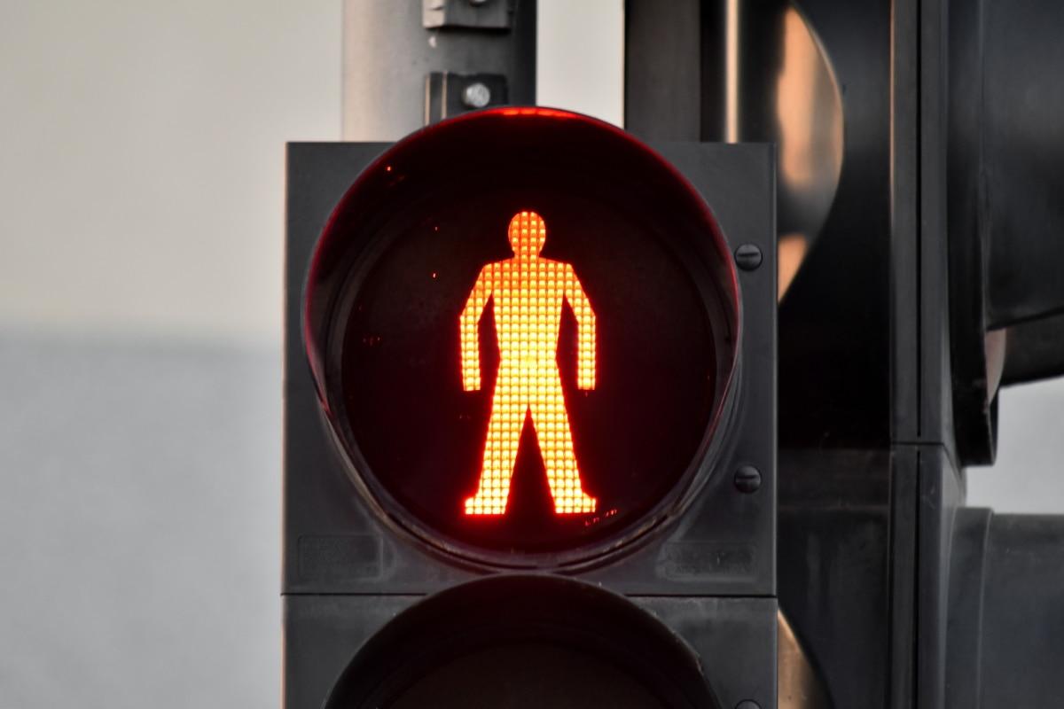 Електроенергія, червоне світло, управління рухом, Світлофор, семафора, попередження, Безпека, світло, перетин, Вулиця
