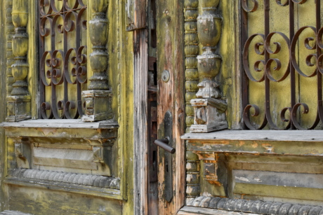 carpentry, carvings, cast iron, front door, gate, handmade, ancient, antique, architectural, architectural style