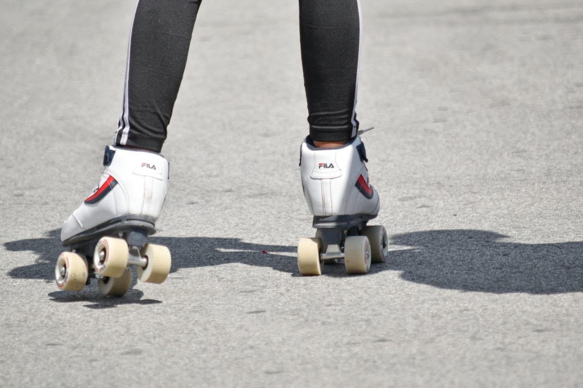 Sport, ulica, asfaltu, Rekreacja, Bruk, aktywny wypoczynek, ćwiczenia, działania, na zewnątrz, ludzie