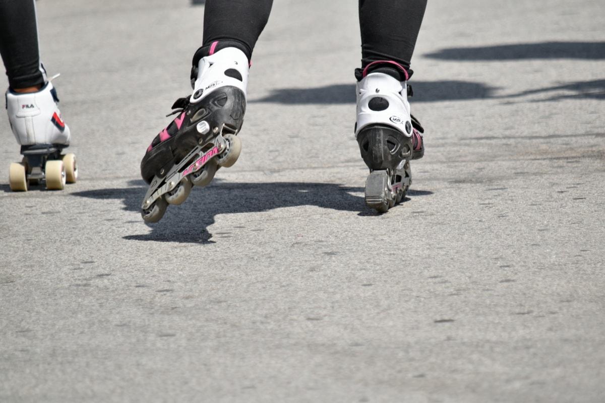 noge, sportski, utrka, natjecanje, ulica, akcija, vježba, cesta, brzo, pokret