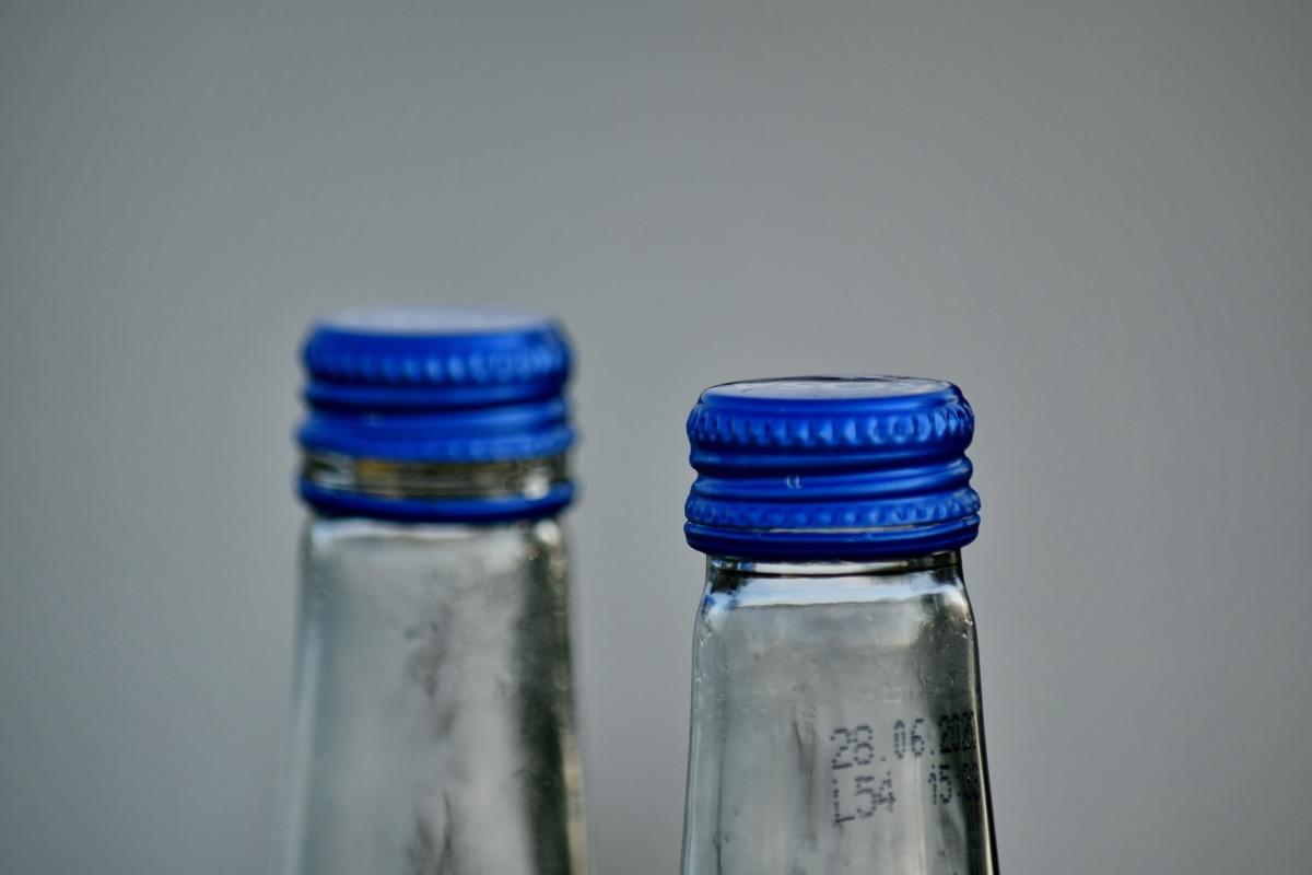 flaske, kontti, genbrug, plast, kolde, glas, tom, stadig liv, renhed, krukke