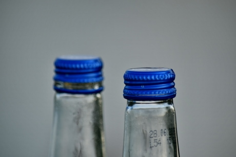 bottle, container, recycling, plastic, cold, glass, empty, still life, purity, jar
