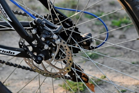 bicycle, chain, gearshift, tire, gear, bike, brake, sport, wheel, equipment