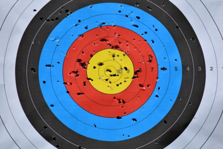center, archery, target, round, precision, illustration, circular, luck, leisure, art