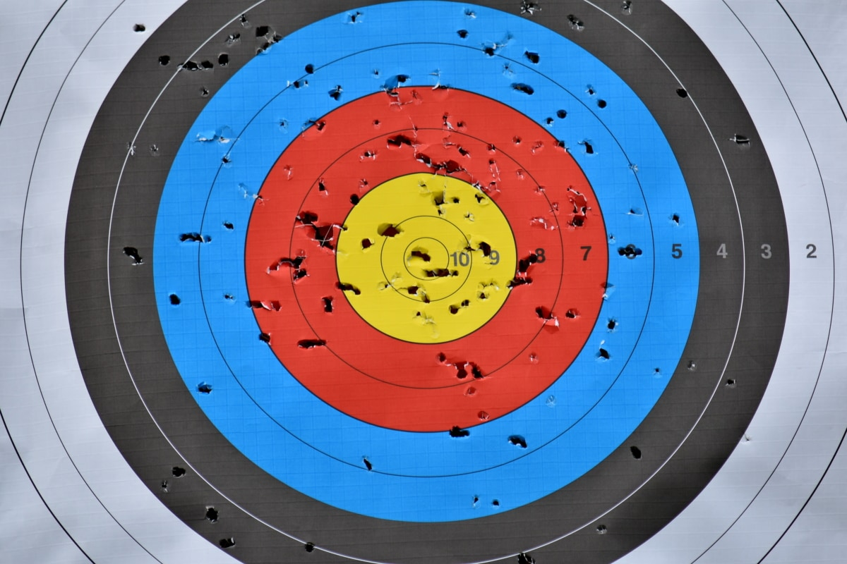 center, circle, target, archery, round, precision, leisure, circular, illustration, structure