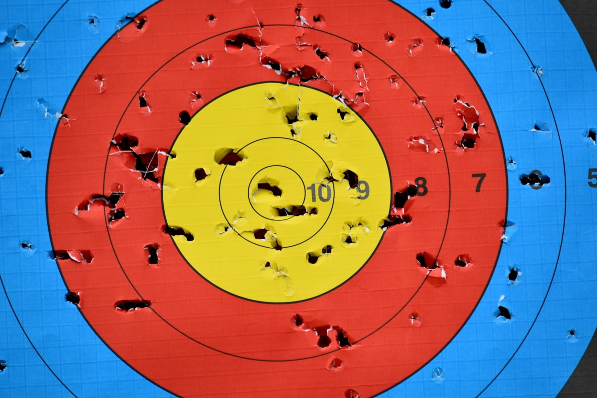 archery, center, target, game, competition, recreation, leisure, circle, design, arrow