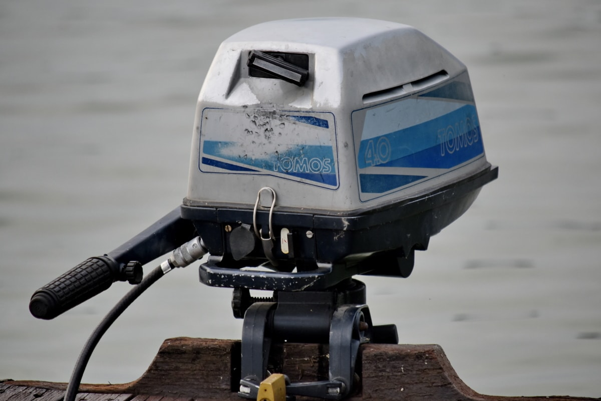 ボート, エンジン, メカニズム, 機械化, 備品, 機械, 車両, 技術, 水, アウトドア