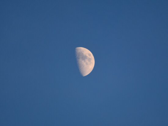 blue sky, galaxy, milky way, moon, universe, nature, air, space, light, high