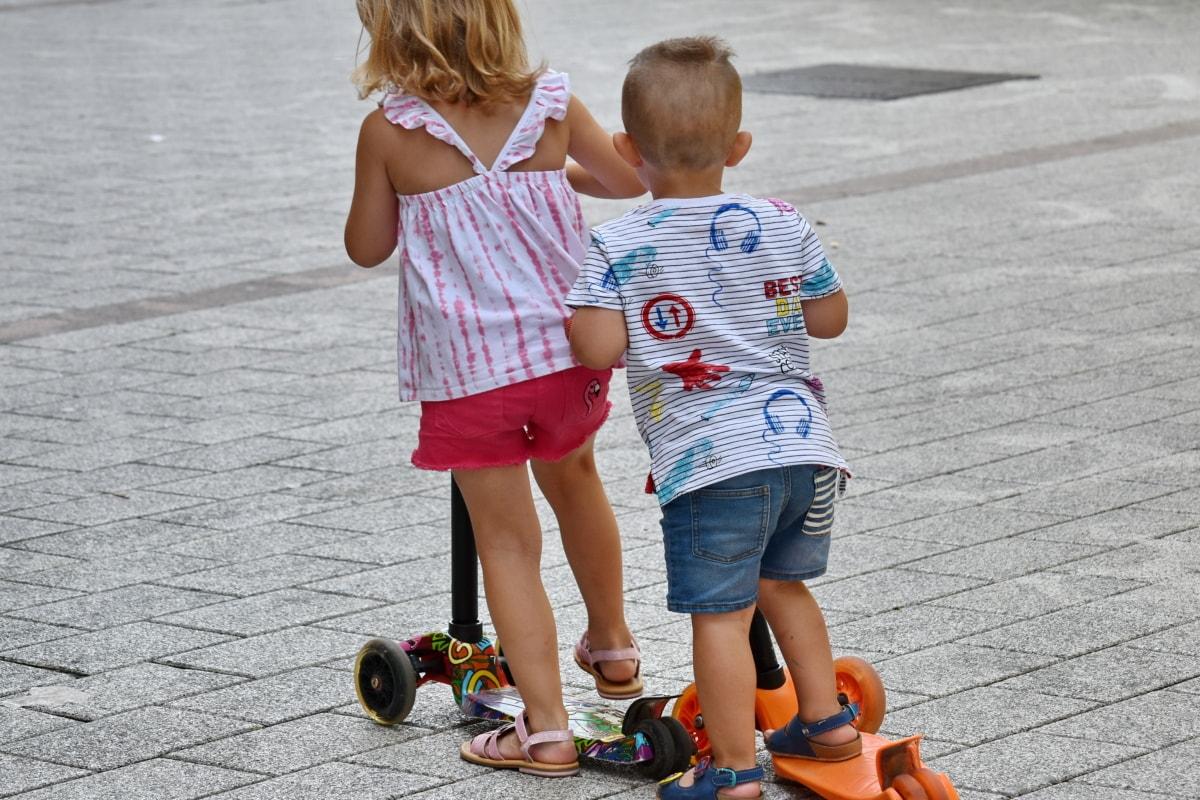 bror, barndom, barn, spela, Syster, kul, barn, Flicka, Pojke, Familj