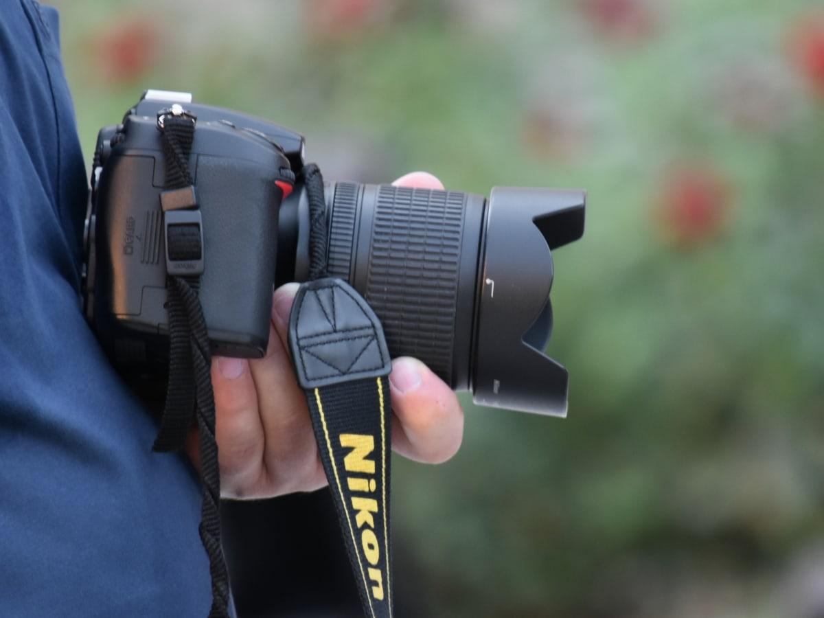 fotograf, snimke, otvor blende, kamera, oprema, leća, na otvorenom, priroda, ljeto, elektronika