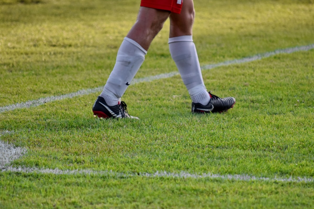 kútik, futbalista, obuv, futbal, športovec, futbal, lopta, Šport, prehrávač, noha