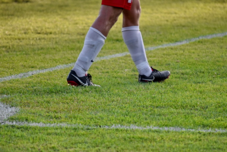 corner, football player, footwear, soccer, athlete, football, ball, sport, player, foot