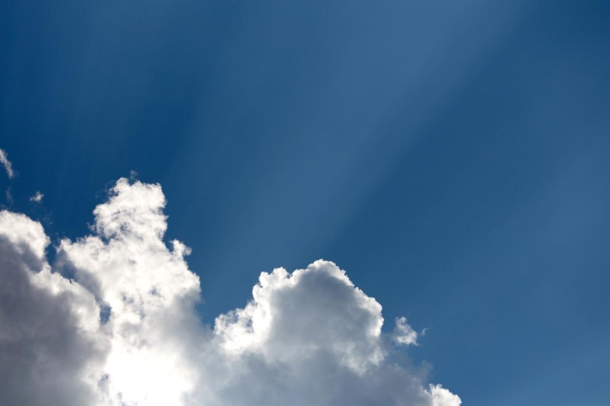cer albastru, nori, Meteorologie, ozon, razele de soare, soare, vânt, nor, aer, Clima