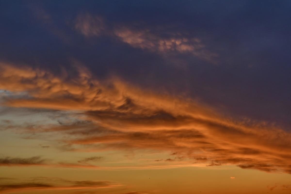 amanecer, noche, sol, paisaje, postre, puesta de sol, nubes, oscuridad, naturaleza, tiempo en Feria