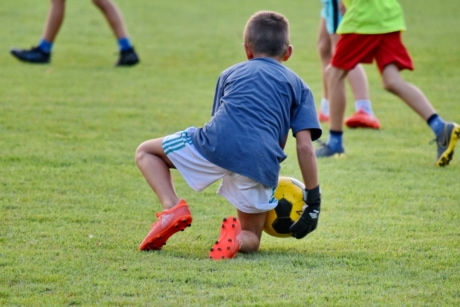 championship, child, football player, game, player, soccer ball, football, soccer, sport, grass