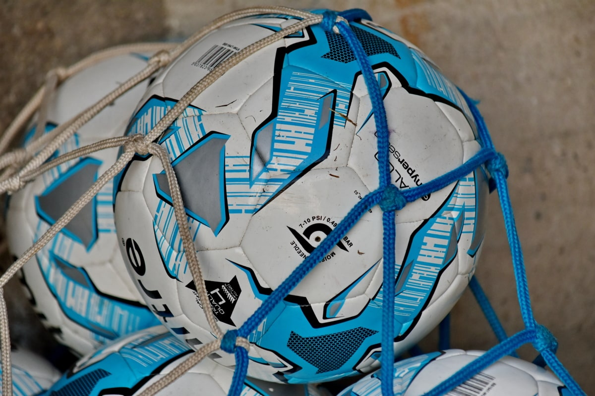 mreža, nogometna lopta, oprema, sportski, lopta, plastika, nogomet, natjecanje, igra, koža