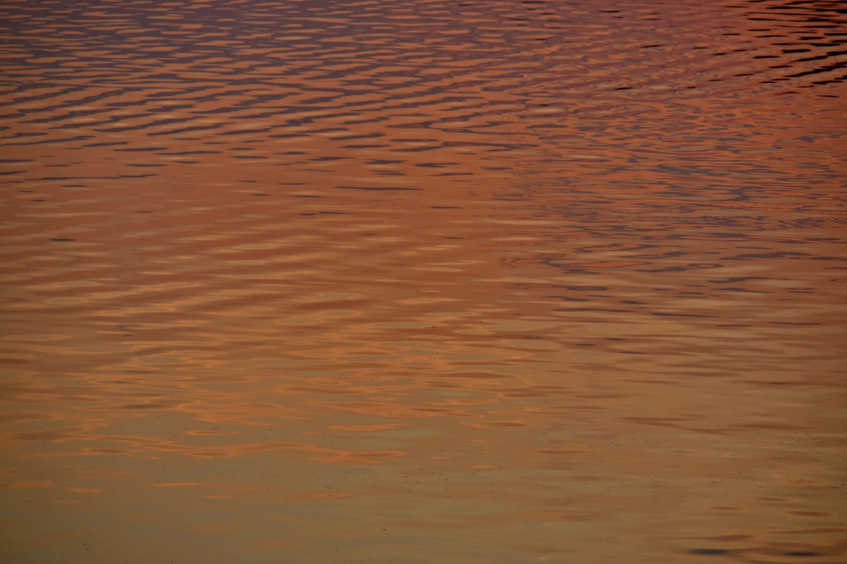 calm, horizon, horizontal, surface, water, water level, waves, sunset, reflection, dawn