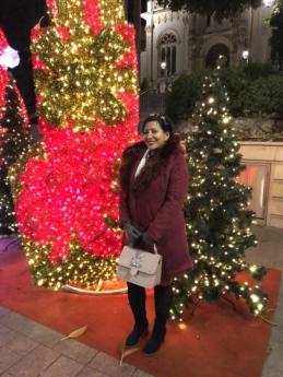 csizma, ünnepe, Karácsony, dekoráció, arc, divat, kesztyű, fél, csinos, csinos lány