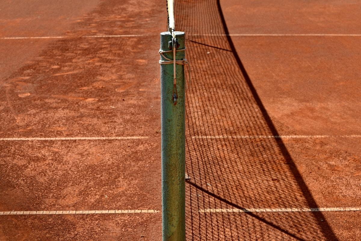 gard, linie de gard, reţea, tenis, teren de tenis, sol, gol, Sport, recreere, racheta