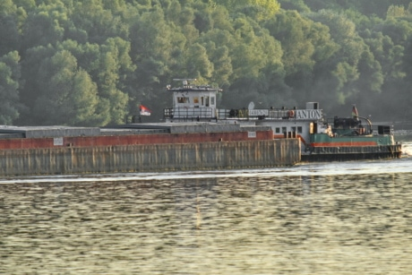 cargo, cargo ship, shipment, water, river, device, vehicle, industry, boat, outdoors