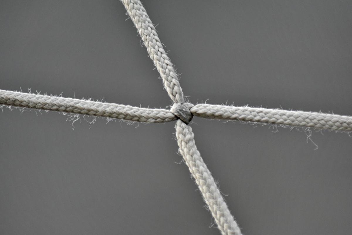 ナイロン, タイトです, Web, 結び目, ファスナー, ロープ, モノクロ, 文字列, 強度, アウトドア
