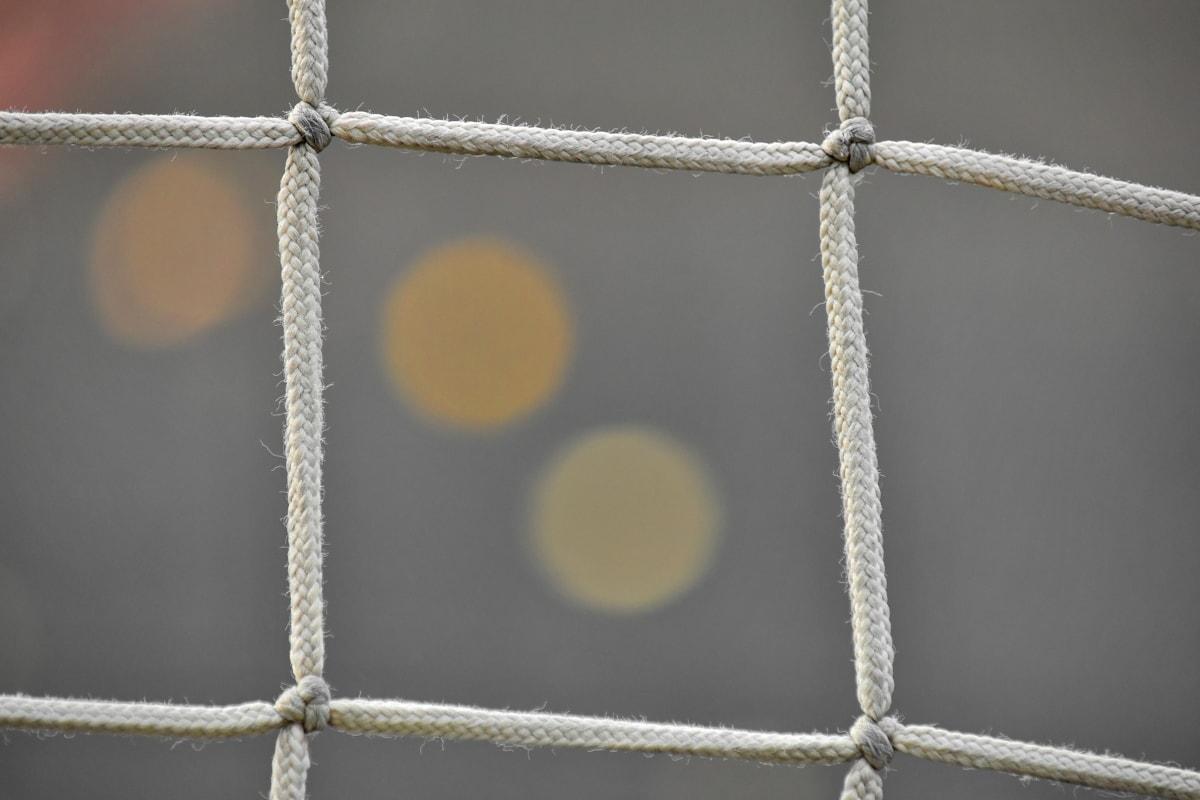 Web, lano, uzol, reťazec, sila, bariéra, zväčšenie, detail, Podrobnosti, materiál